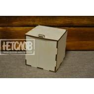 Коробка с крышкой под шар