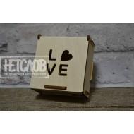 """Шкатулка-мини """"Love"""""""