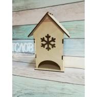Чайный домик со снежинкой