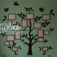 "Композиция ""Семейное дерево"" без фоторамок"