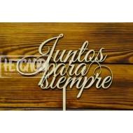 """Топпер """"Juntos para siempre"""""""