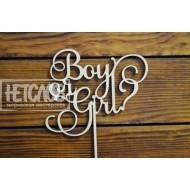 "Топпер ""Boy or girl"""