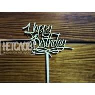 """Топпер """"Happy Birtnday"""" №3"""