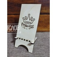 """Подставка под телефон """"Принцесса с короной"""""""