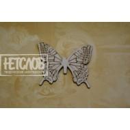 Бабочка с гравированными крыльями