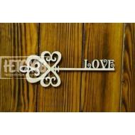 """Ключ со словом """"love"""""""
