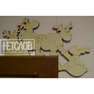 Элемент декора на угол двери или камина