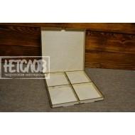 Коробка под снежинки, 4 секции