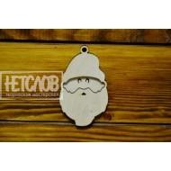 Голова деда Мороза (два слоя)