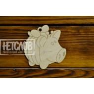 Свинка-шмель (с подвесом)