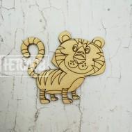 "Заготовка для броши ""Тигр №22"""