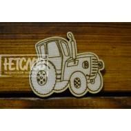 """Основа для броши """"Трактор"""""""