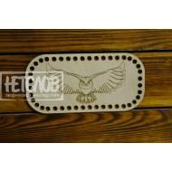 Крышка для корзинки из трикотажной пряжи №41