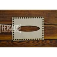 Крышка для корзинки из трикотажной пряжи №42