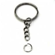 Кольцо с цепочкой для брелока