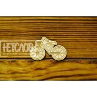 """Основа для броши, значка """"Велосипед"""""""