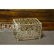 Ажурный короб для денежных подарков