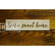 """Табличка с надписью """"Home sweet home"""""""""""