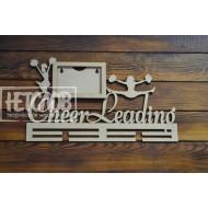 "Медальница ""Cheer Leading"", с фоторамкой"