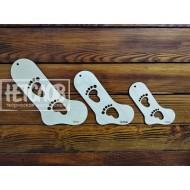 Блокаторы для детских носков (сплошные)